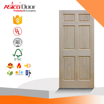 Unfinished 6 Panel Solid Core Red Oak Interior Door Slab Buy Solid