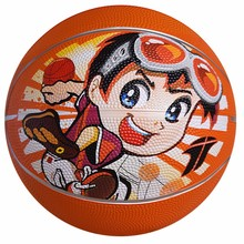 wholesale top quality cheap colorful Rubber ball Basketball