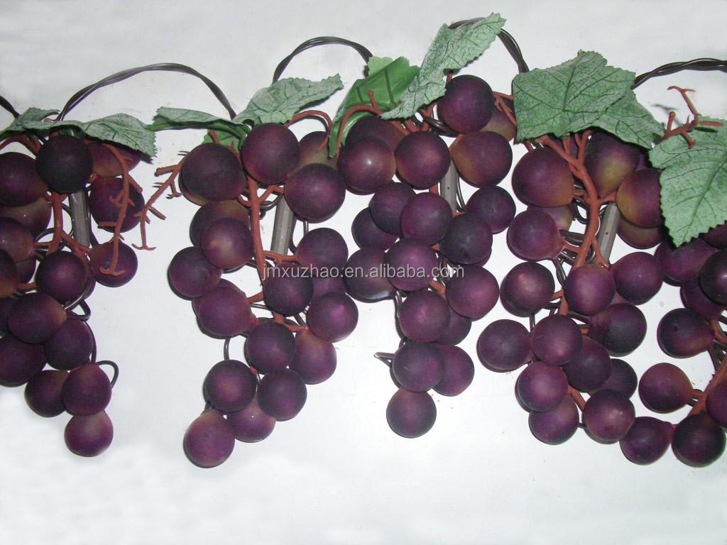 purple color grape christmas lights brown wire buy decorative christmas lightsgrape cluster lightsled grape lights product on alibabacom