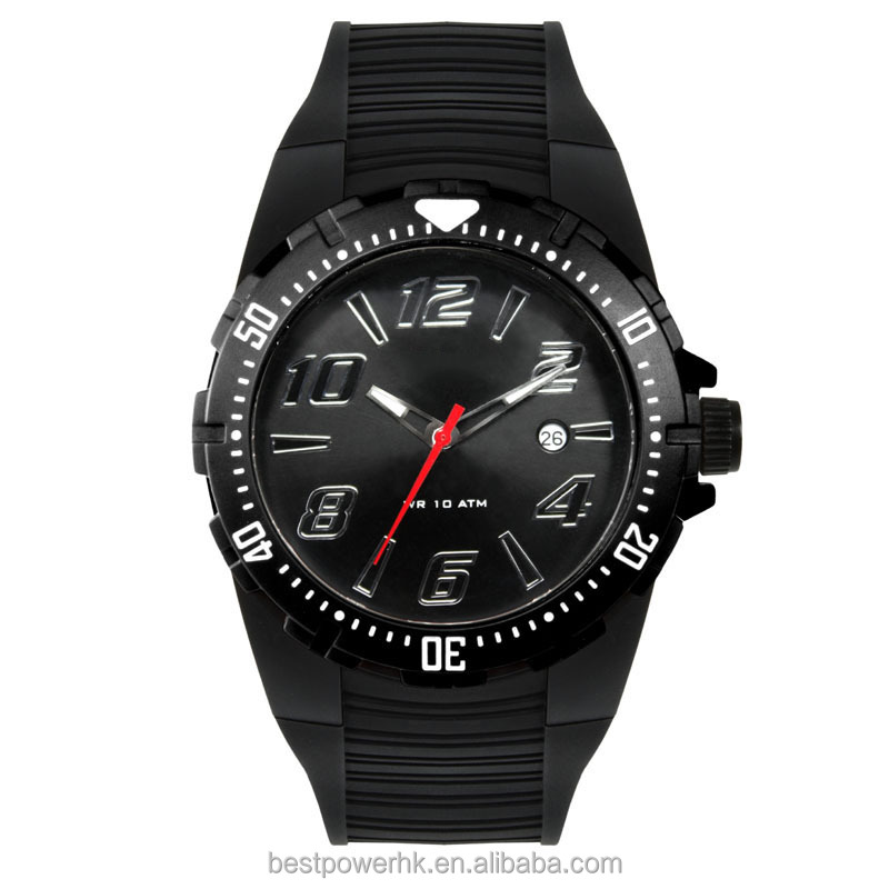 Japan movement plastic digital quartz wrist watches for <strong>men</strong>