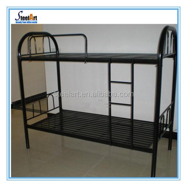 Oem litera para adultos apilable cama doble militar metal - Camas dobles para adultos ...