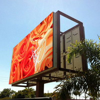 P10 outdoor programmable scrolling led sign