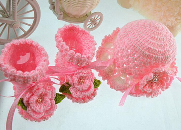 6a3ce0326bcd6 Recién Nacido Crochet Sombrero Bebé Chica Sombrero - Buy Sombrero De ...