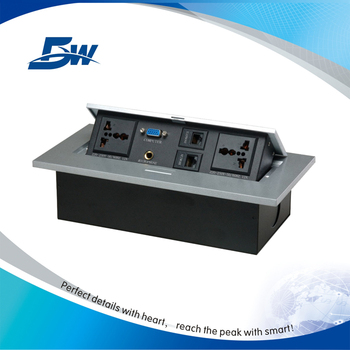 Bwt Office Furniture Tabletop Switch Socketpop Up Desk Power - Conference table pop up outlets