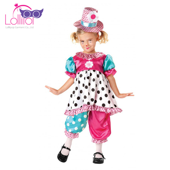 Carnival Costume Cosplay Kids Clown Costume Girls Buy Kids Clown