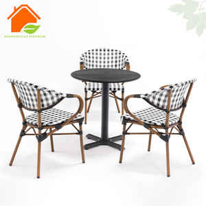Outdoor Outside Table And Chair For Cafe Set