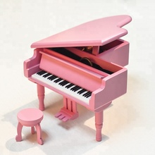 Popular mini music box piano wooden musical toys8