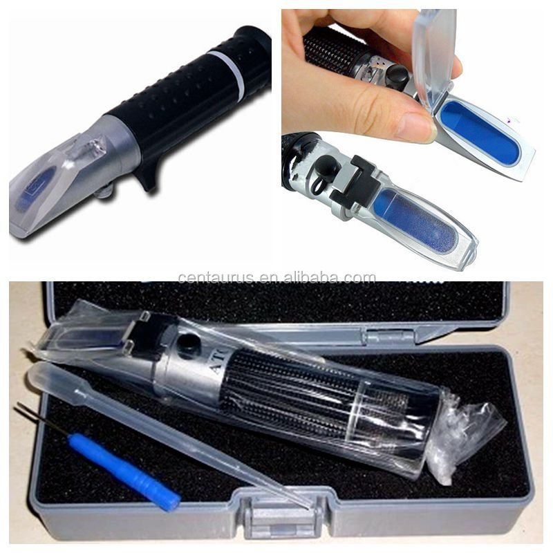 Good quality hand-held brix sugar refractometer with best price