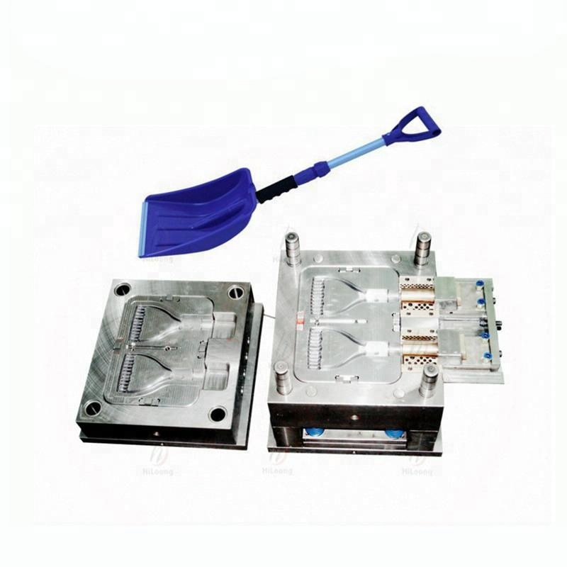 Hot New Products Plastic Injection Mould Snow Shovel Handle Mould <strong>Manufacturing</strong>