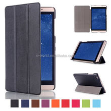 8 inch Tablet Leather Case Smart Cover Hard Back Case for Huawei Mediapad M2 8""