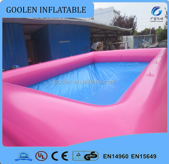 Pink Mud Pit, Inflatable Mud Pool
