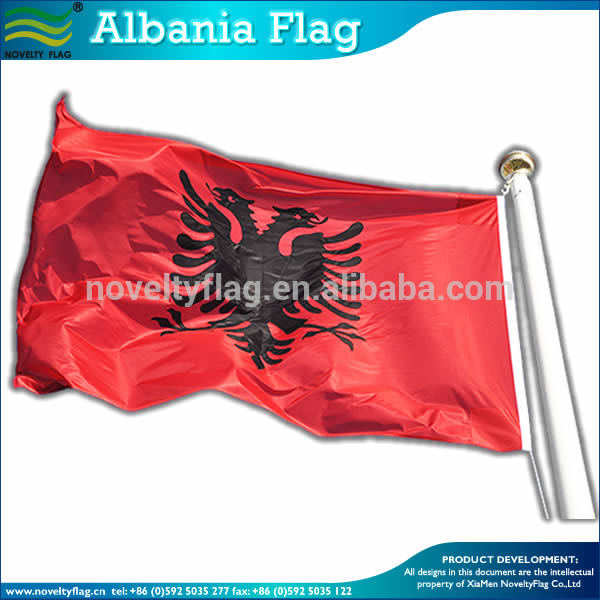 UEFA Euro 2016 digital printed Albania Flag