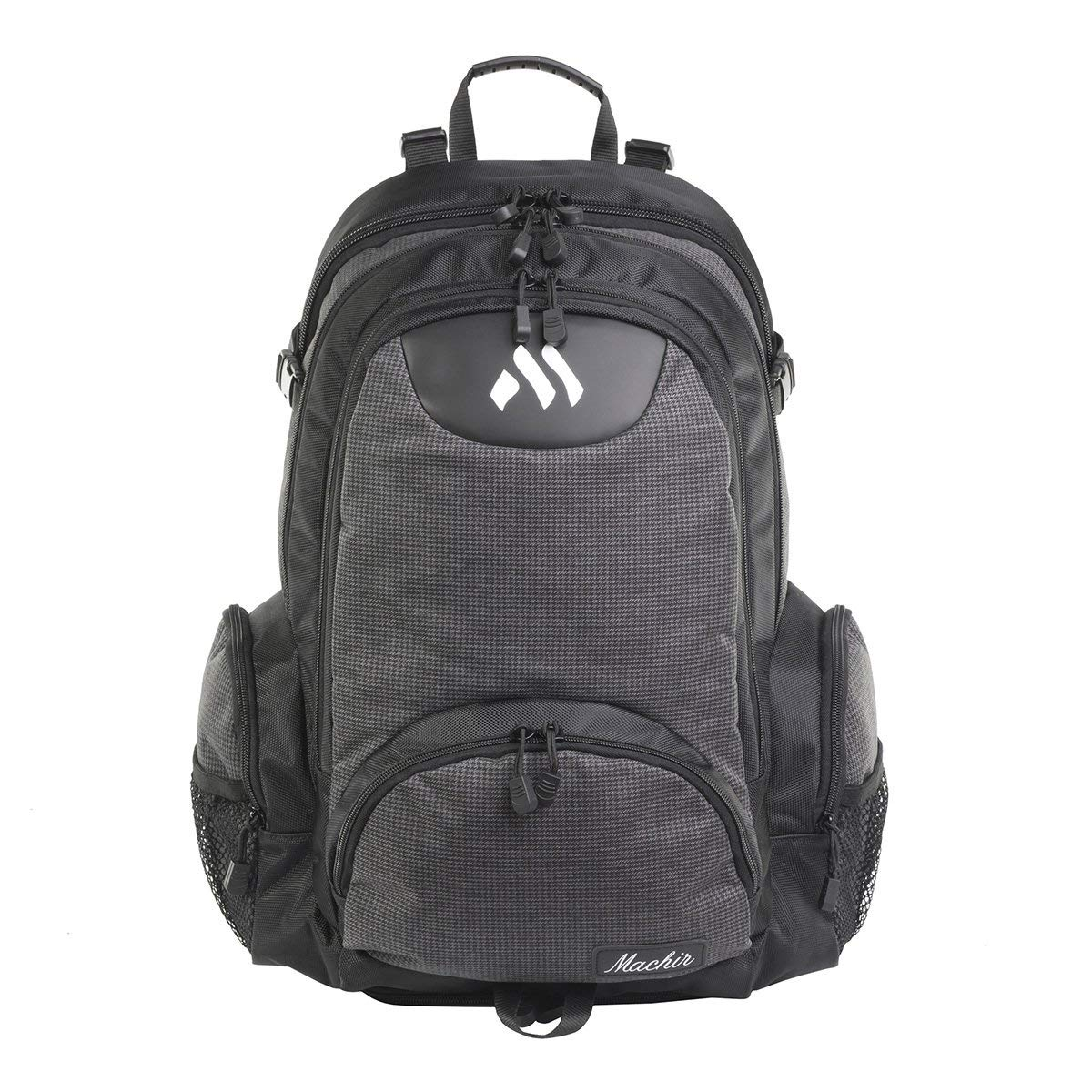 61a117e426 Get Quotations · MACHIR Gym Backpack Shoe Compartment Travel Business Slim  Durable (Avian Millennium Dusk)