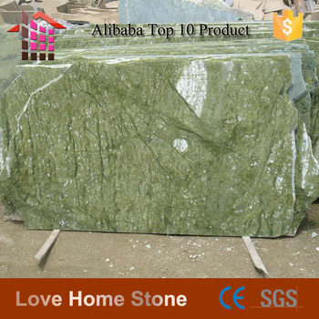 Alibaba Best Whole Quality Ming Green Marble Slab Asian Granite Stone Countertop