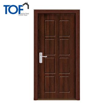 Solid Indian Main Door Interior Modern Door Swing Open Wood Door