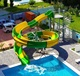 Popular aqua spray playground equipment commercial fiberglass water park slides for sale with manufacturers price