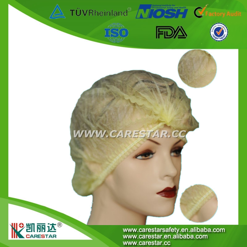 wholesale medical bouffant cap making by machine