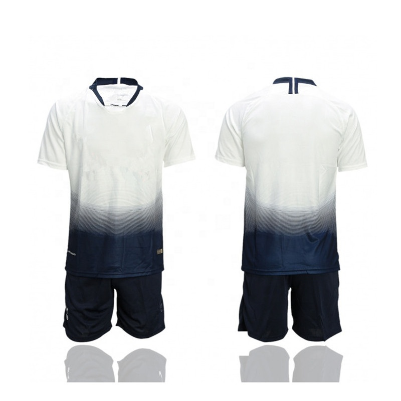 China Suppliers Professional Custom Design Sublimated Soccer Jersey Set, Any color is available