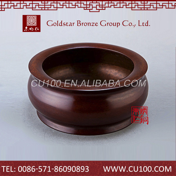Oem quality exquisite design chinese traditional copper incensory