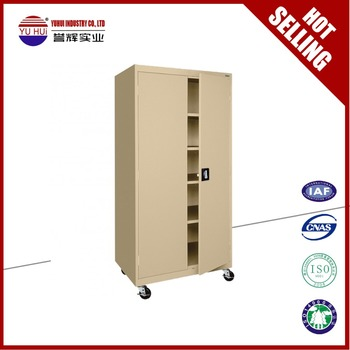 Movable Cabinets With Wheels Steel Double Door Cabinet Steel Godrej  Cupboard Steel Cupboard Price Wheel Cupboards