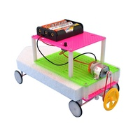kids diy resource water land amphibious car magic car toy