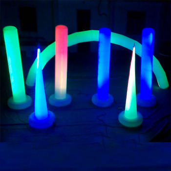 LED inflatable club decor, club party decorations, night club decor