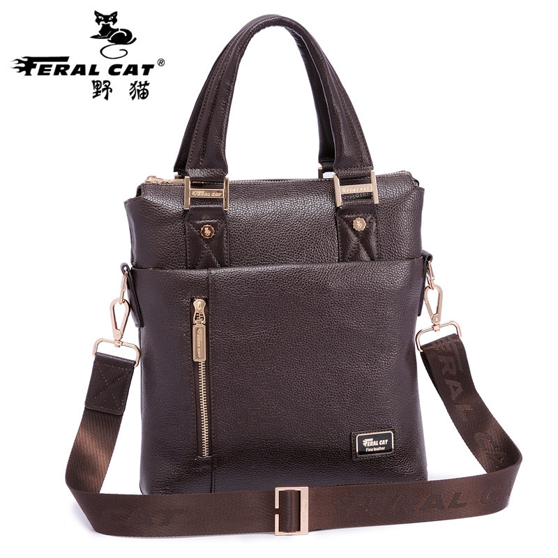 High Quality Famous Brand Mens Casual Laptop Briefcase Crossbody Business Messenger Bags With PU Leather Bag For Men