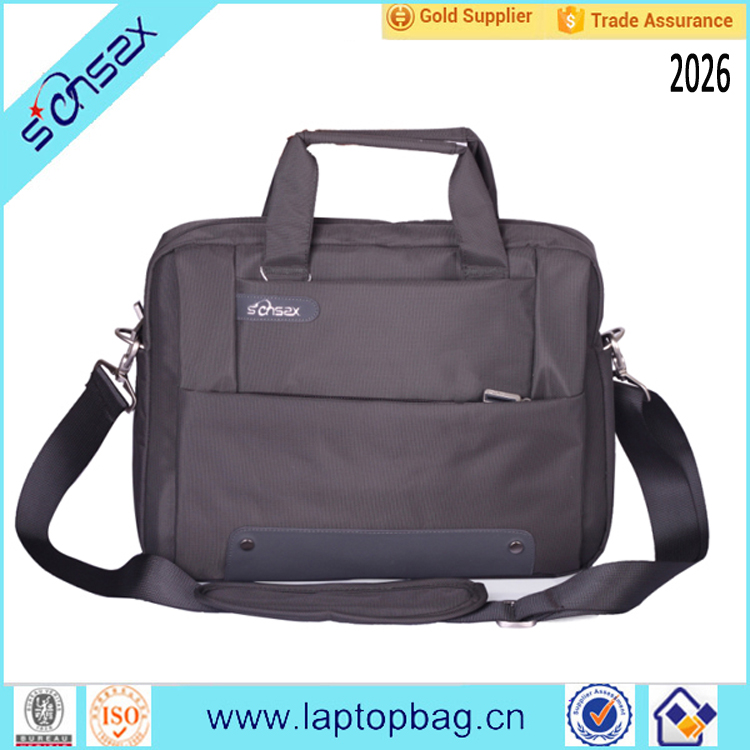 promotional laptop computer briefcases bags with custom logo