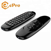 2018 best air mouse C120 2.4g universal remote control MX3 keyboard