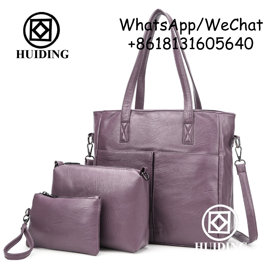 2017 Fashion Handbag 3 in 1 set Bag Oversized Bag with Wallet