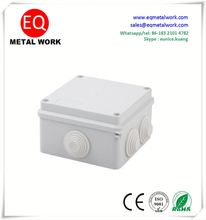 Junction box with knockouts four way junction box outlet junction box