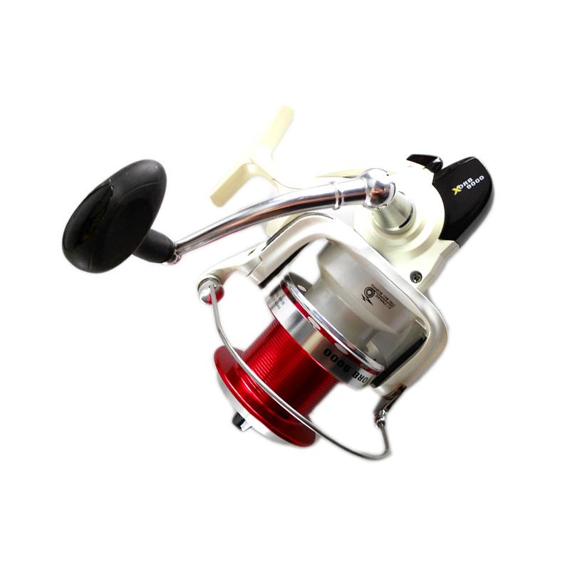 FSR_Xorb spinning reel metal spool CNC handle 8+1BB 4.4:1, White