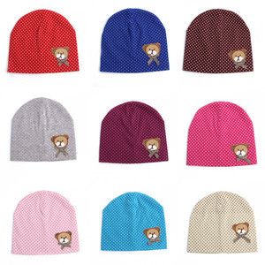 7228925f2ae winter children Beanies boys girls Infant toddlers kids hat cotton baby hat  baby cap