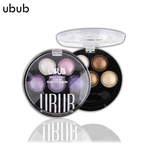 UBUB Eyes Makeup Pigment Glitter Eyeshadow 5 Colors Eye Shadow Palette Beauty Cosmetics Make Up