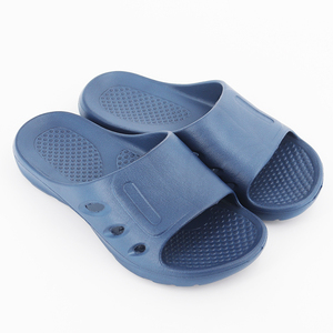 Men Indoor Home Plastic Slippers Bath Shower Wear Mens Sandal Shoes