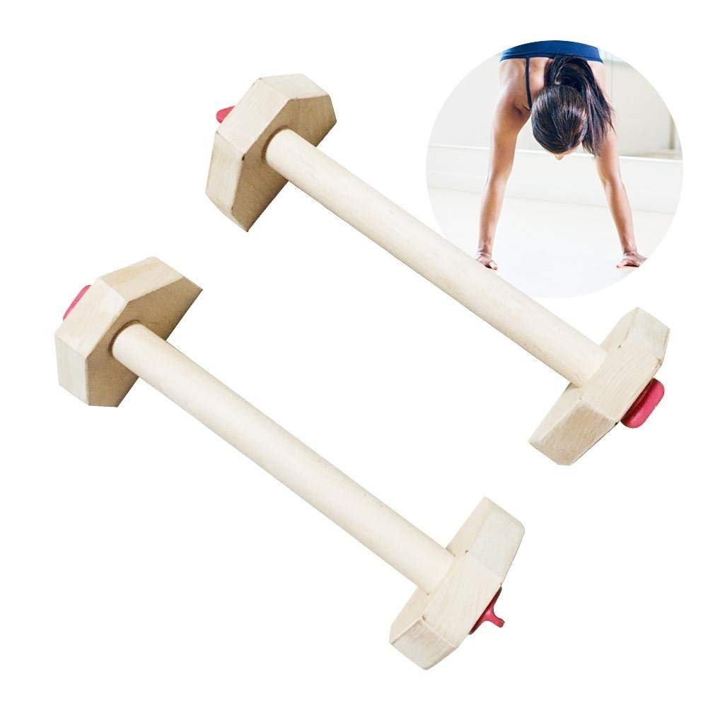 PROKTH Russian Style Fitness Equipment Detachable Combination Stretch Stand Wooden Single Double Bars Calisthenics Handstand Personalised Bars Wooden Push-Ups Double Rod