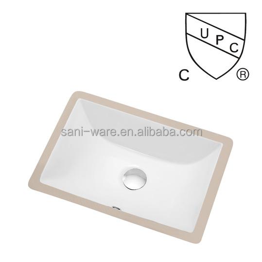 Rectangular Ceramic Undermount Sink
