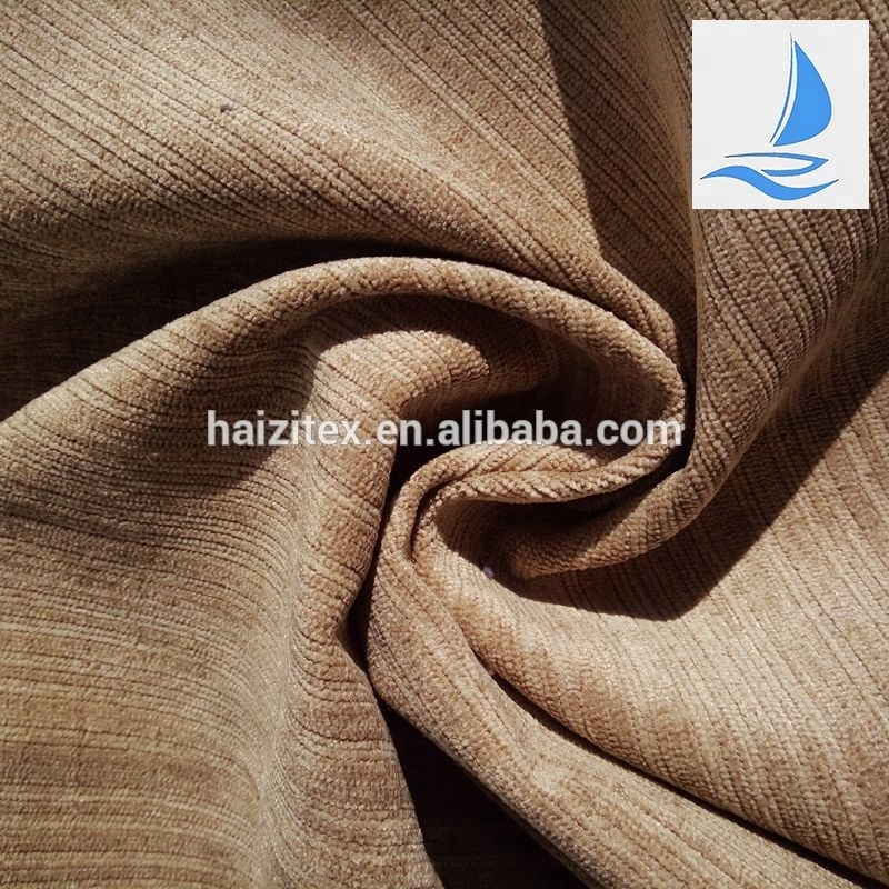 Chinese supplier blind curtain mix stripe corduroy fabric/fustian cord for kids curtains/chair cover