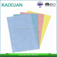 chemical bond cleaning cloth for kitchen,Chemical bond cleaning cloth,wholesale blue disposable dishcloth