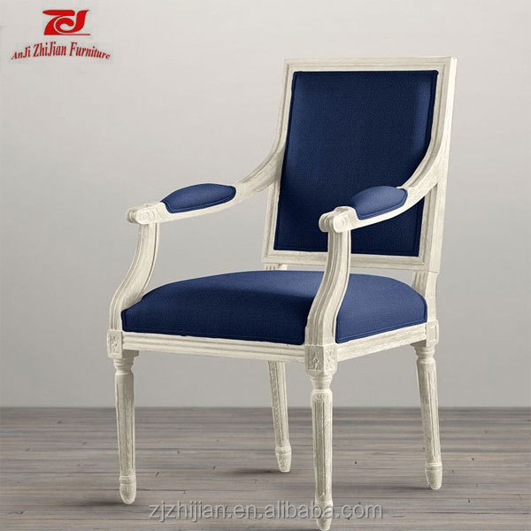 French Armchair Restaurant Chairs for Sale Used Louis Arm Chair ZJL27