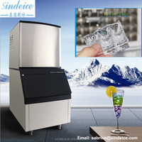Sales service provided home using cube ice machine 60kg for sale