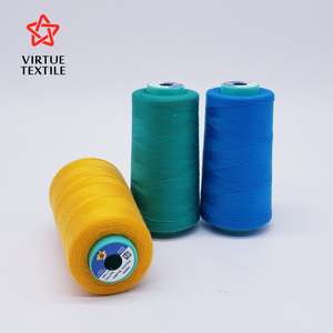 Virtue Textile brands TFO knot-less 100% spun polyester sewing thread 40/2 20/2 50/2 20/3