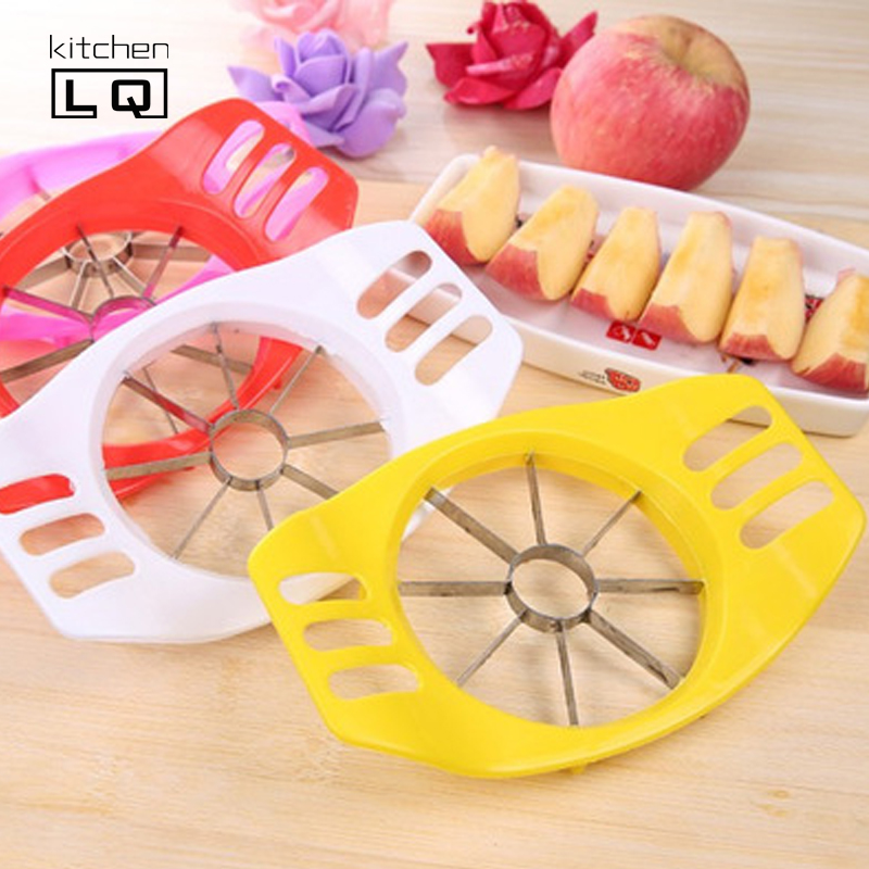 Cheap Colourful Large Pear Apple <strong>ABS</strong>+ Stainless Steel Kitchen Tools Fruit Slicer