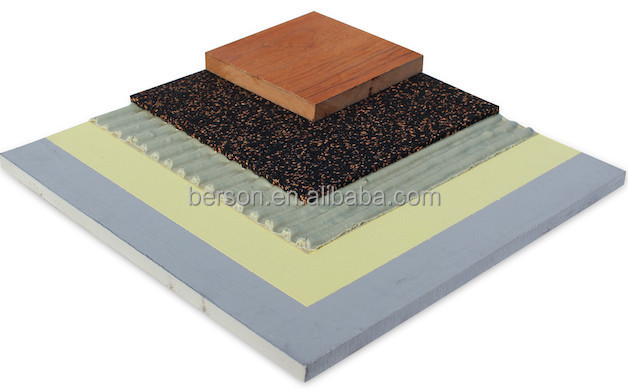 Eco Rubber Foam Soundproof Underlay For Carpet Or Ceramic Tiles - Ceramic tile soundproof underlayment