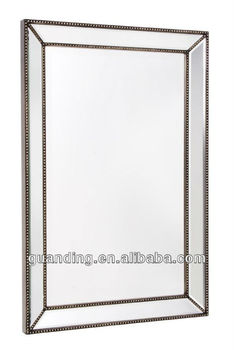 Venetian Beaded Leaner Mirror Project Living Dining Office