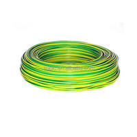 PVC Green/Yellow Earth Electric Wire 6mm2 (H05V-U) pictures & photos
