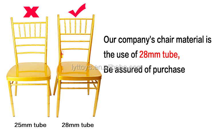 Most popular used outdoor event pp plastic stacking acrylic chair