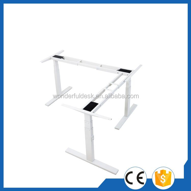 Newest promotional two desk legs electric lifting column