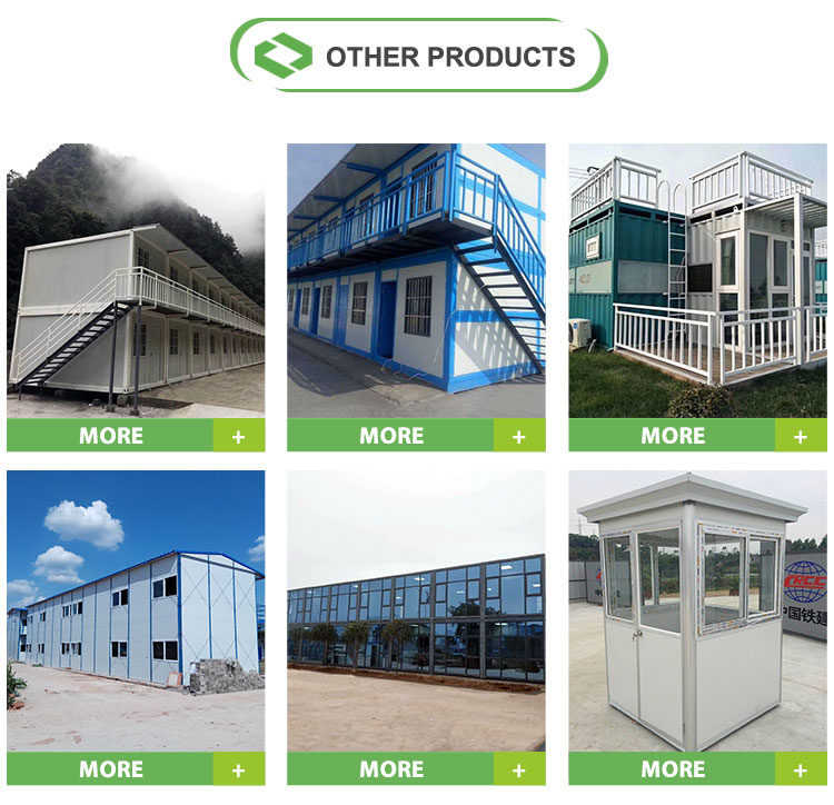 Fabriek concurrerende gerecycled puerto rico container huis flat pack kip huis