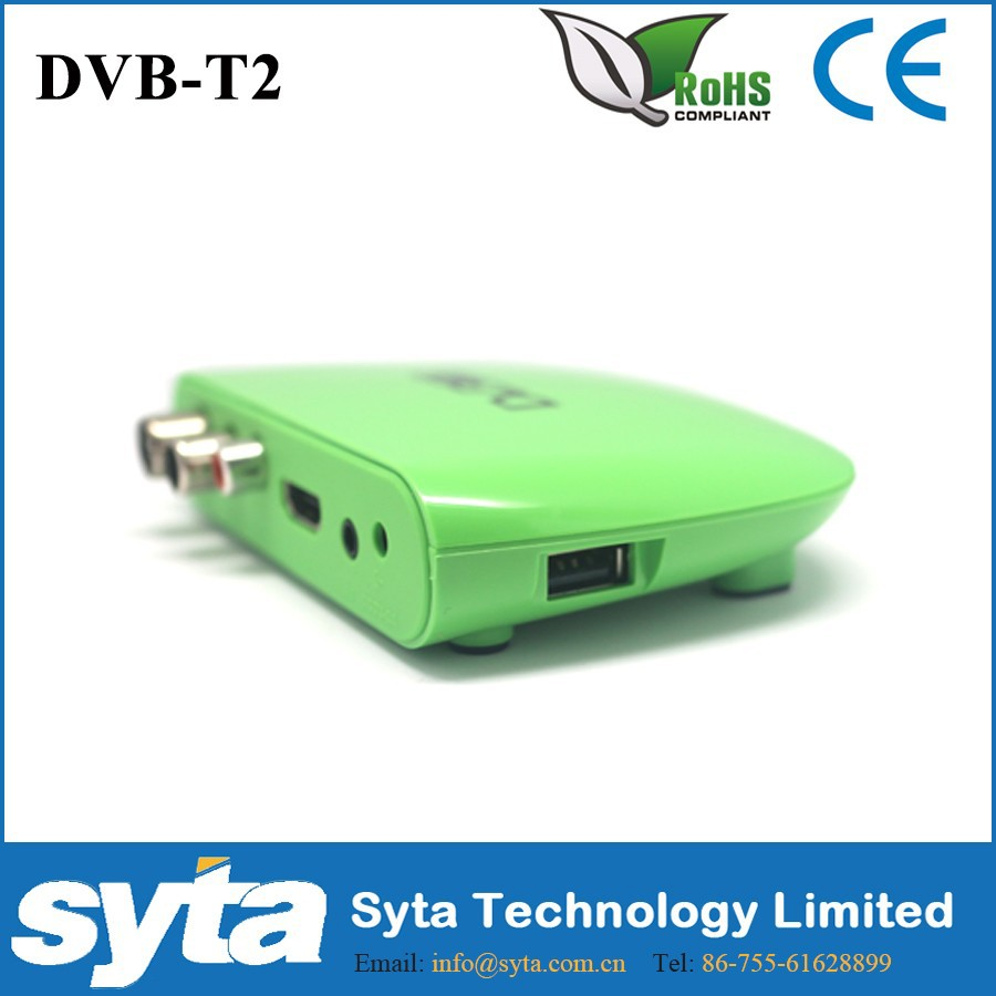 S1023M8 MINI HD DVB-T2 STB MPEG4 DVB T2 Digital TV Terrestrial Receiver Support USB Mini Set Top Box For RUSSIA/Europe/Columbia